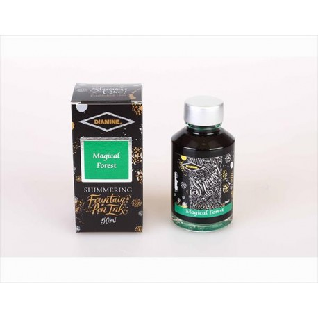 DIAMINE Shimmering Magical Forest Fountain Pen Ink