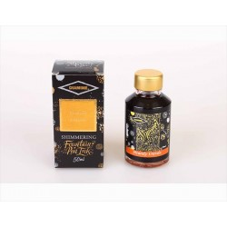 DIAMINE Shimmering Brandy Dazzle Fountain Pen Ink