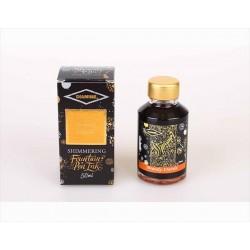 DIAMINE Shimmering Brandy Dazzle Fountain Pen Ink