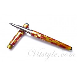 Tenny Urban Animal Fountain Pen (Mosaics Red)