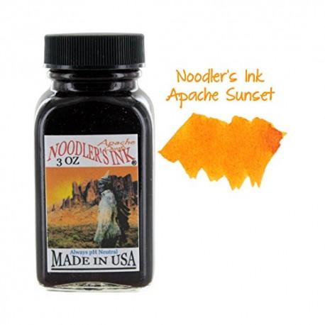 Noodler's Ink 3oz Glass Bottle Apache Sunset