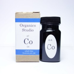 Organics Studio Cobalt Blue Fountain Pen Ink