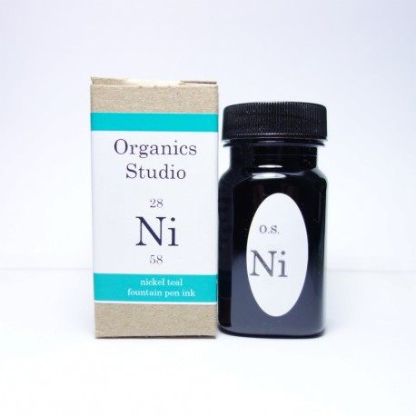 Organics Studio Nicke Teal Fountain Pen Ink