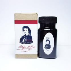 Organics Studio Edgar Allan Poe Raven Red Fountain Pen Ink
