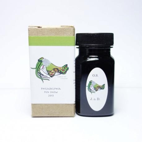 Organics Studio Join Or Die Green Sepia Fountain Pen Ink