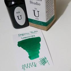 Organics Studio Uranium Green Fountain Pen Ink