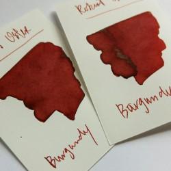 Robert Oster BURGUNDY fountain pen ink 50mll