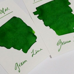 Robert Oster GREEN LIME fountain pen ink 50ml