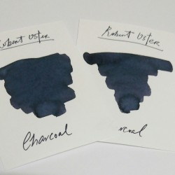 Robert Oster CHARCOAL fountain pen ink 50ml