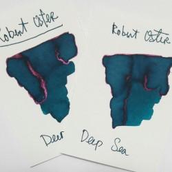 Robert Oster DEEP SEA fountain pen ink 50ml