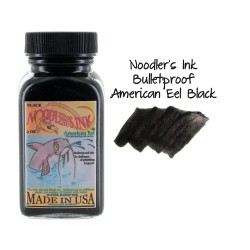 Noodler's Ink 3oz Glass Bottle Eel Black