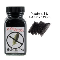 Noodler's Ink 3oz Glass Bottle X-Feather