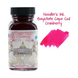Noodler's Ink 3oz Glass Bottle Baystate Cape Cod Cranberry