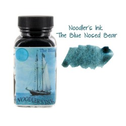 Noodler's Ink 3oz Glass Bottle Blue Nosed Bear