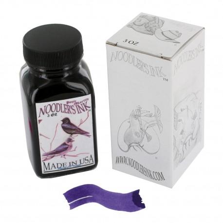 Noodler's Ink 3oz Glass Bottle Purple Martin