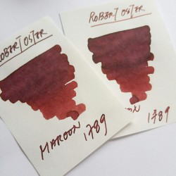 Robert Oster MAROON 1789 fountain pen ink 50ml