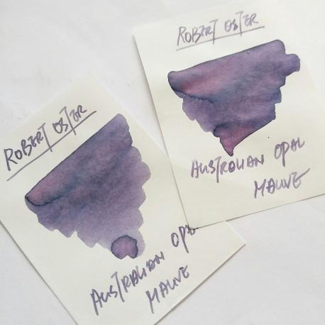 Robert Oster AUSTRALIAN OPAL MAUVE fountain pen ink 50ml