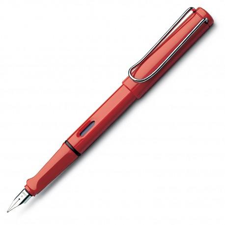 Lamy Safari RED Fountain Pen Fine Nib