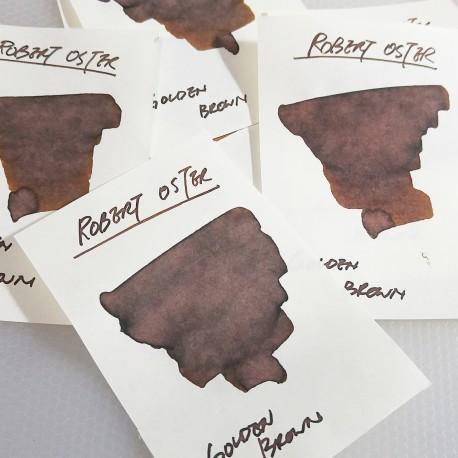 Robert Oster GOLDEN BROWN fountain pen ink 50ml