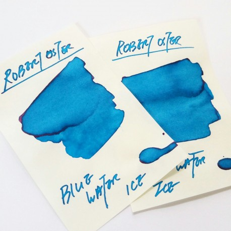 Robert Oster BLUE WATER ICE fountain pen ink 50ml