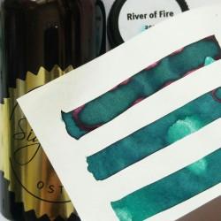 Robert Oster RIVER OF FIRE fountain pen ink 50ml