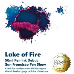 Robert Oster LAKE OF FIRE fountain pen ink 50ml