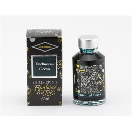 DIAMINE Shimmering Enchanted Ocean Fountain Pen Ink