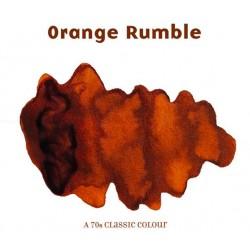 Robert Oster Orange Rumble fountain pen ink 50ml