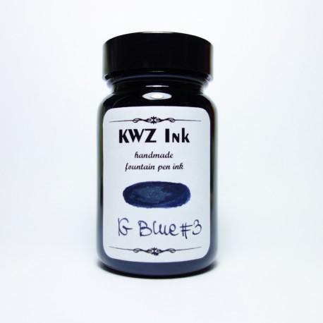 KWZ Iron Gall Ink - IG Blue#3