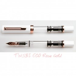 TWSBI ECO White - ROSE GOLD Fountain Pen