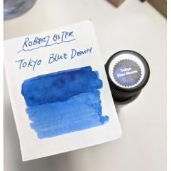 Robert Oster Tokyo Blue Denim fountain pen ink 50ml