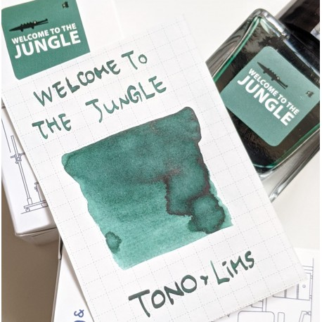 Tono & Lims Welcome to Jungle Fountain Pen Ink