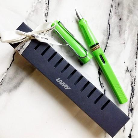 Lamy Safari GREEN Fountain Pen (Fine Nib)