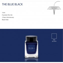 Tono & Lims THE BLUE BLACK Fountain Pen Ink