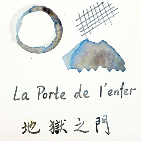 Tono & Lims La Porte de l'enfer Fountain Pen Ink-Crystal Respect