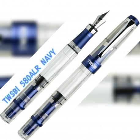 Pre-Sale TWSBI Diamond 580ALR NAVY BLUE Fountain Pen
