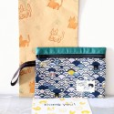 Granny.thecat Stationary Pouch - Swimming Cats