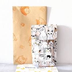 Granny.thecat Pen Pouch - Happy Cats