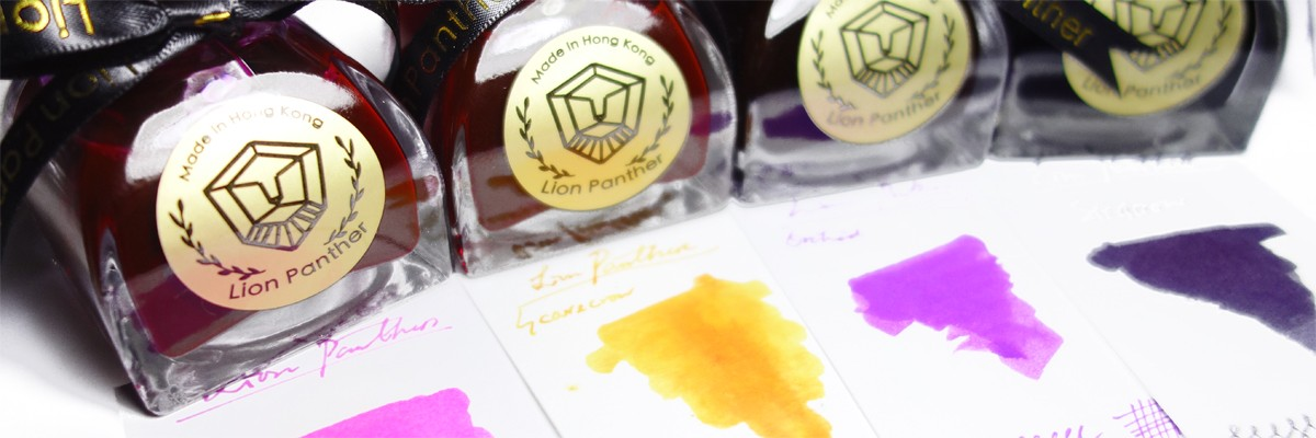 Lion Panther Fountain Pen Ink