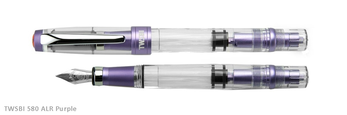 TWSBI 580ALR Purple